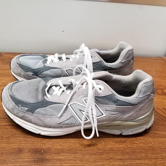 info for ea328 ece39 New Balance 990 v3 Men s Heritage Running Shoes. M 5b7d802e2beb794ee59a0c17